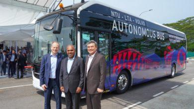 Photo of וולוו חושפת את האוטובוס החשמלי אוטונומי הראשון