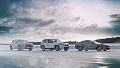 Photo of BMW בודקת שלושה דגמים חשמליים מתוכננים בתנאי חורף