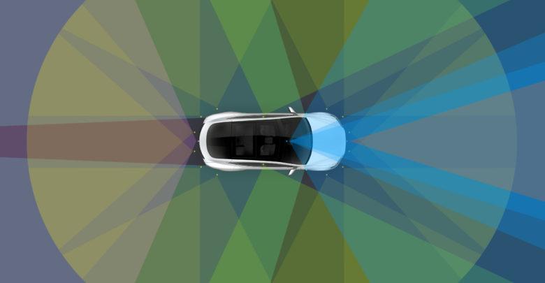 הדמיה של הראות של רכב טסלה עבור נהיגה אוטונומית