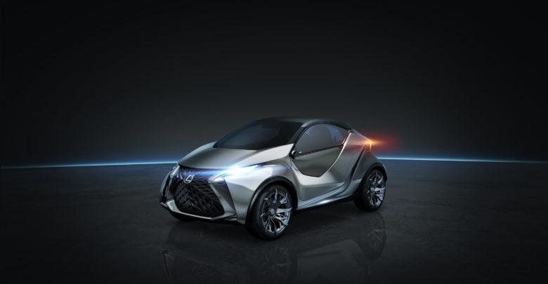 הדמיה של רכב חשמלי של לקסוס ה-