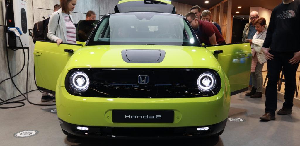 הונדה E חשמלית בתערוכת הרכב בפרנקפורט