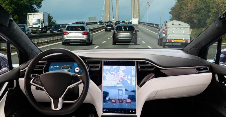 רכב אוטונמי, פנים הרכב