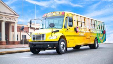 אוטובוס חשמלי להסעת תלמידים בארצות הברית של Proterra