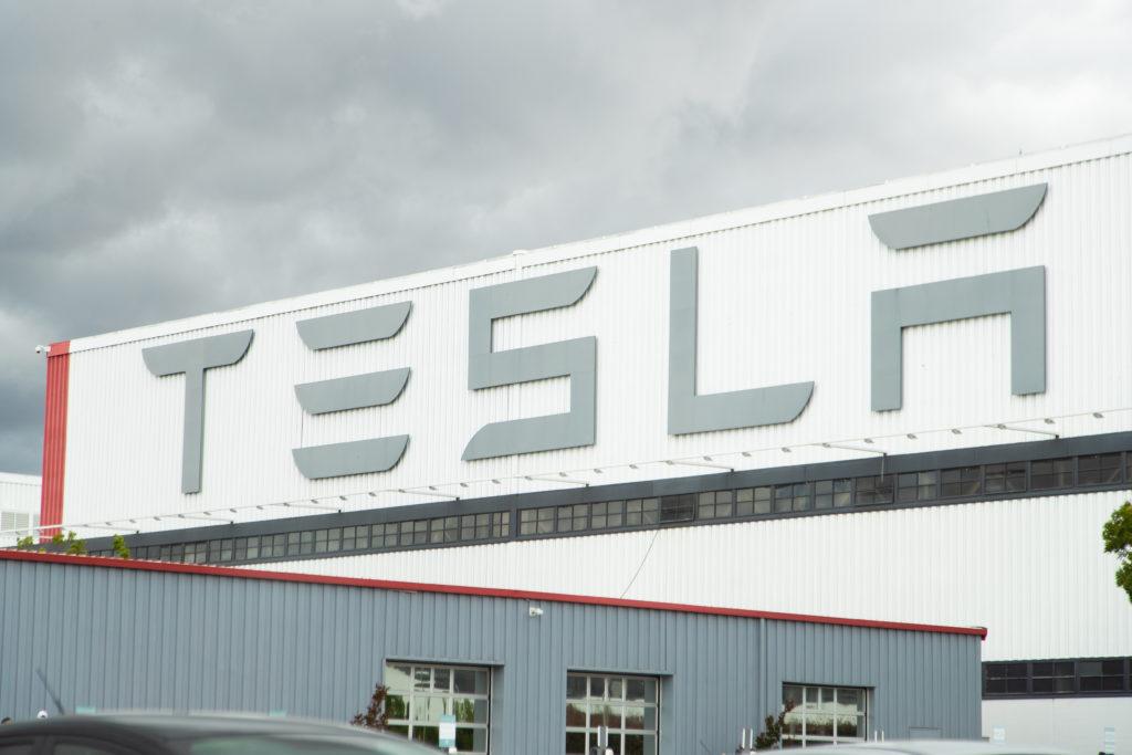 מפעל טסלה בקליפורניה ארצות הברית