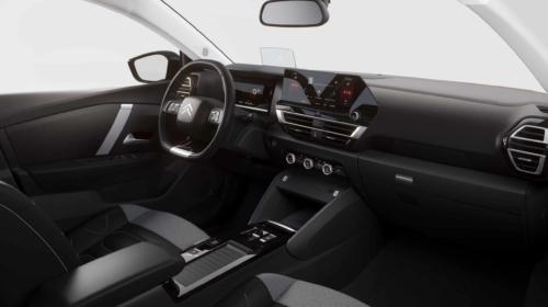 פנים הרכב וסביבת הנהג של הסיטרואן e-C4