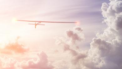 המטוס החשמלי סולאר אימפולס בשמיים