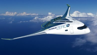 קונספט של מטוס איירבוס חשמלי מבוסס מימן
