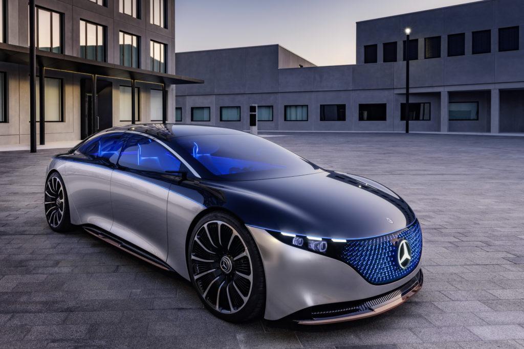 מרצדס EQS קונספט של הרכב החשמלי של מרצדס
