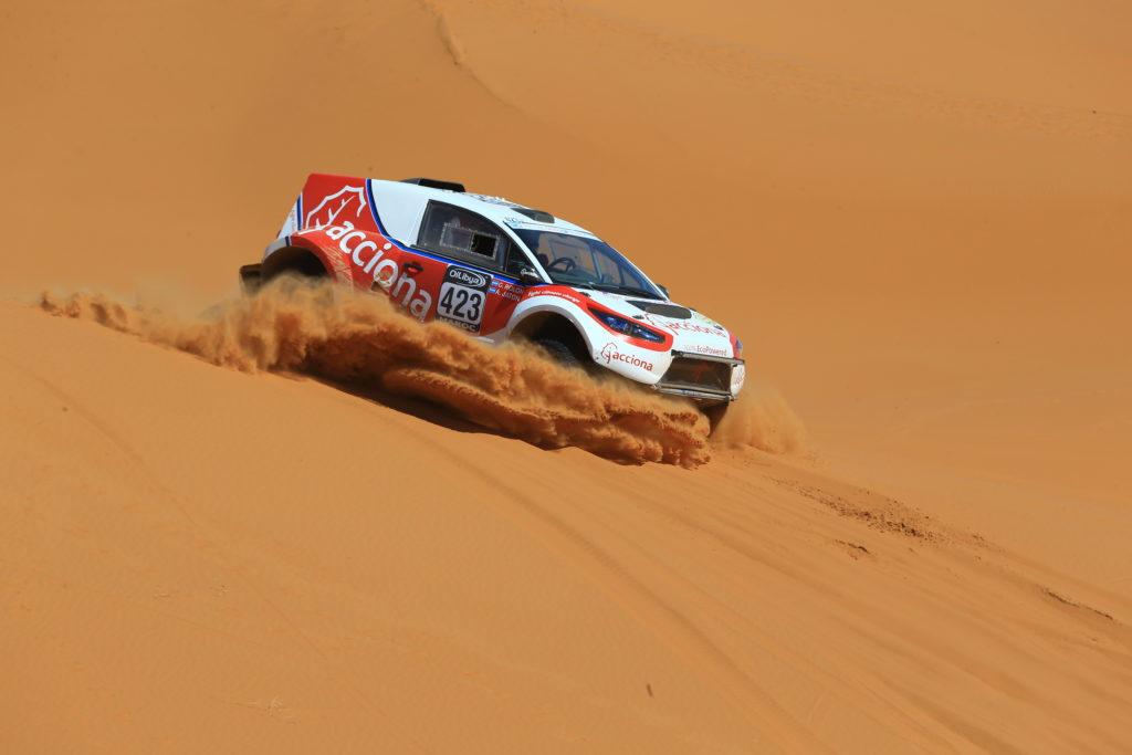 Acciona Dakar רכב מירוצים חשמלי בשטח