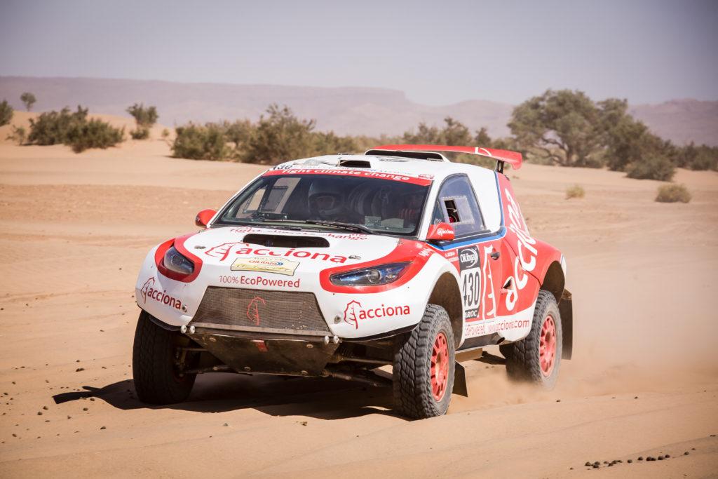 Acciona Dakar רכב מירוצים חשמלי