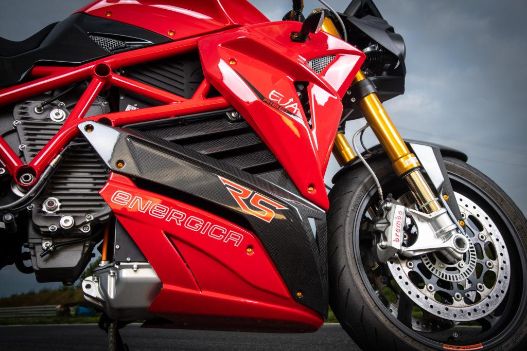 אופנוע חשמלי של אנרג׳יקה EVA Ribelle