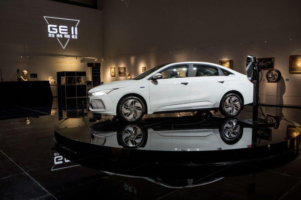 גיאומטרי A - רכב חשמלי של ג׳ילי