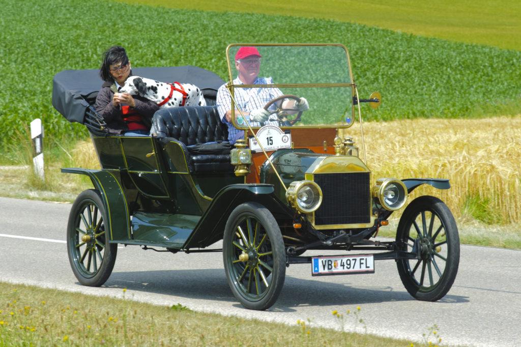 פורד מודל T שנת 1910 בגרמניה