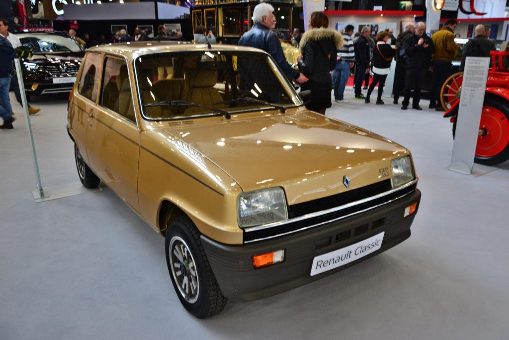 רנו 5 דגם 1984 בתערוכת Retromobile 2020