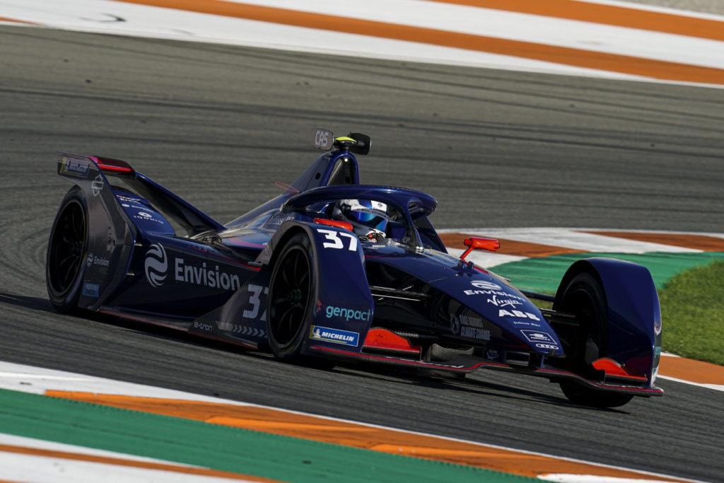 רכב מירוץ של Envision Virgin Racing