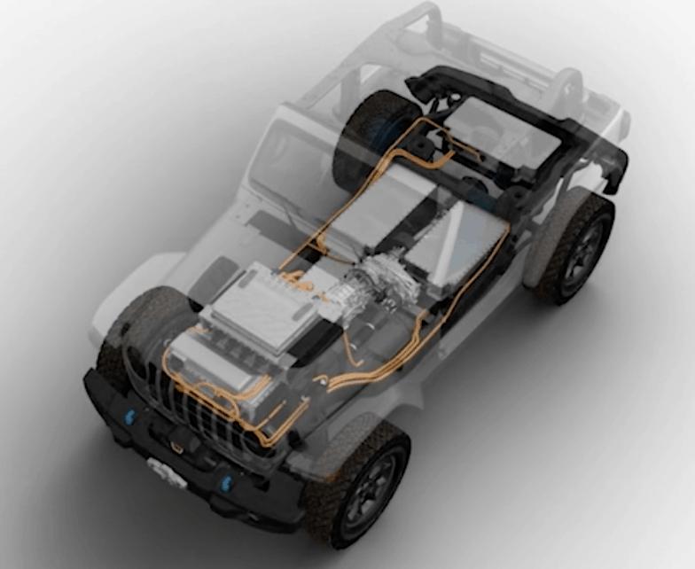 מערכת ההנעה החשמלית של הג׳יפ החשמלי