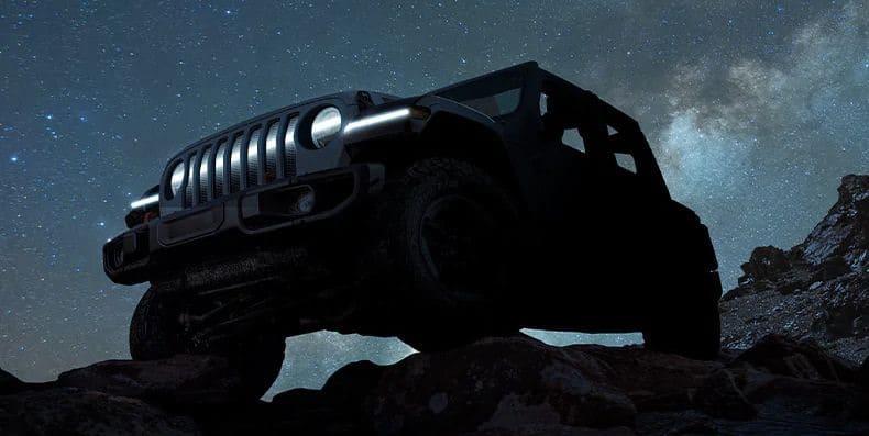 טיזר לרכב החשמלי של ג׳יפ