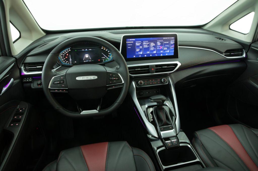 סביבת הנהג של ה-EUNIQ 5 החשמלית
