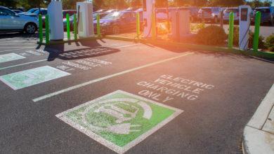 חניה ייעודית לרכב חשמלי בארצות הברית