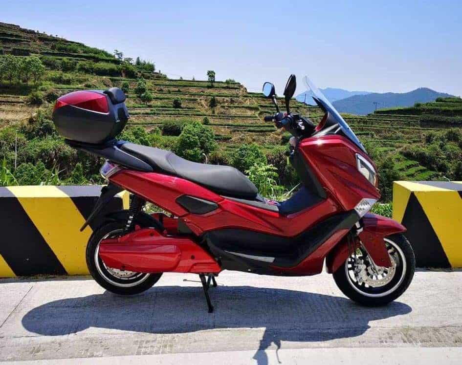 קטנוע חשמלי ZAP T7 בצבע אדום
