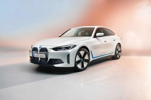 העיצוב החיצוני של הרכב החשמלי ב.מ.וו. i4