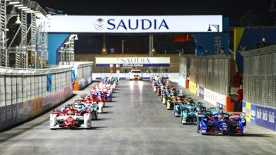 מירוץ הפתיחה של עונה 7 של פורמולה E בערב הסעודית
