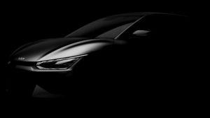 קיה EV6 קרוסאובר חשמלי - לקראת החשיפה