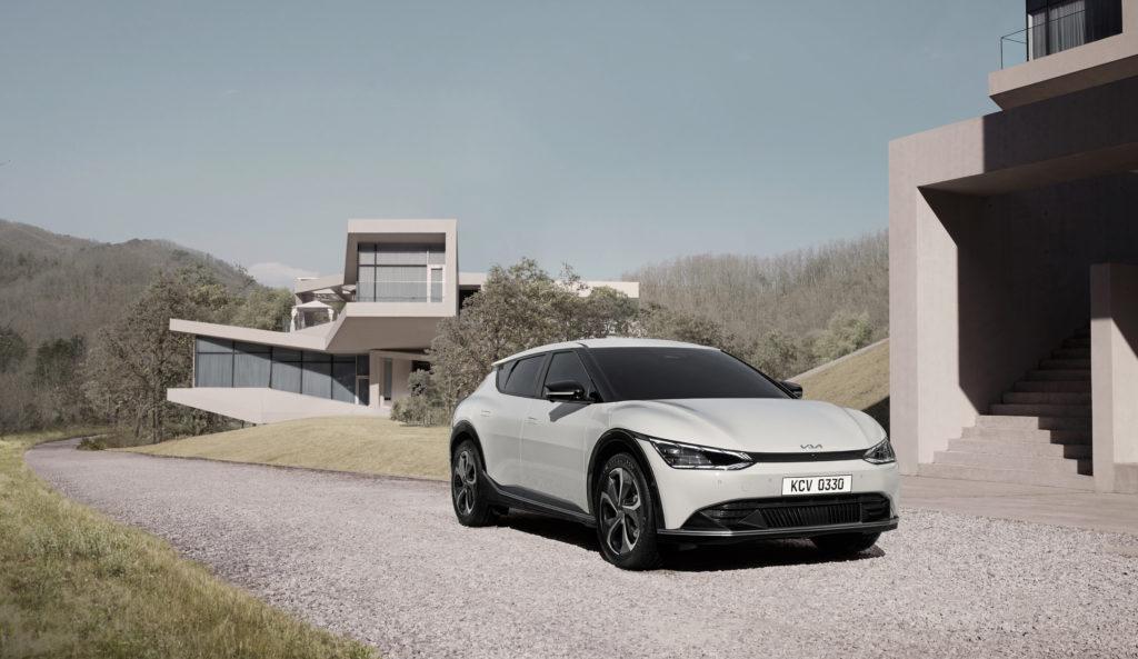 הרכב החשמלי החדש של קיה EV6