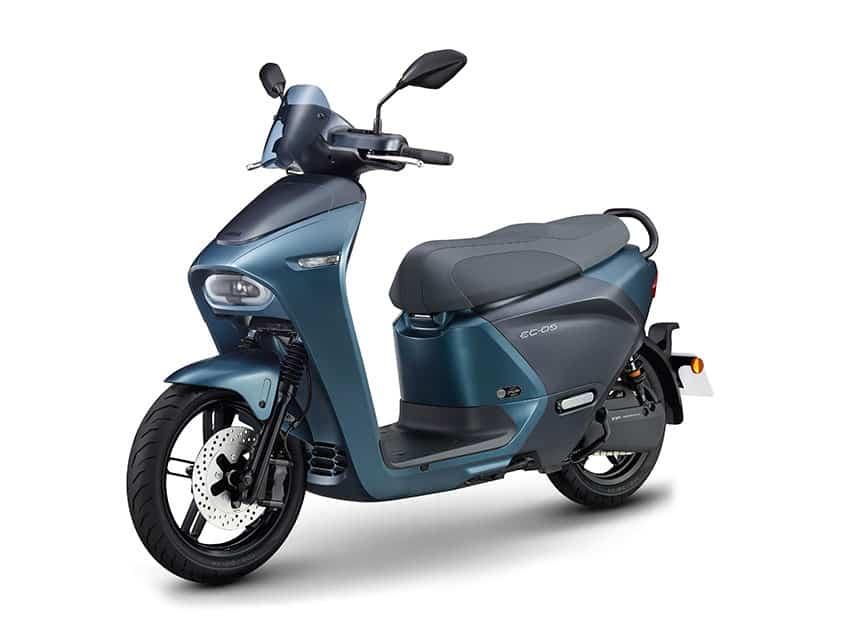 הקטנוע החשמלי של ימאהה EC-05