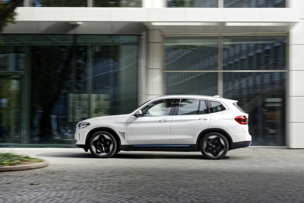 מבט צד על ה-BMW i3