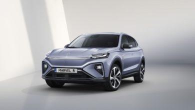 MG Marvel R רכב חשמלי חדש מבית קונצרן SAIC הסיני
