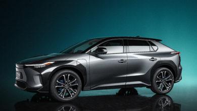 רכב הקונספט החשמלי החדש של טויוטה bZ4x