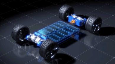 פלטפורמה לרכב חשמלי עם ארבעה מנועים חשמליים של ימאהה