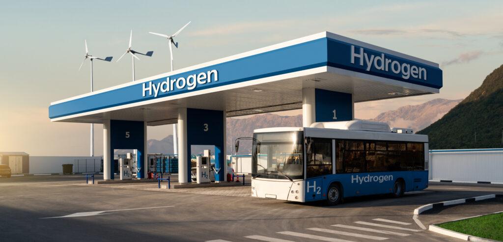 תחנת מימן לאוטובוסים ומשאיות מבוססות תאי דלק מימניים