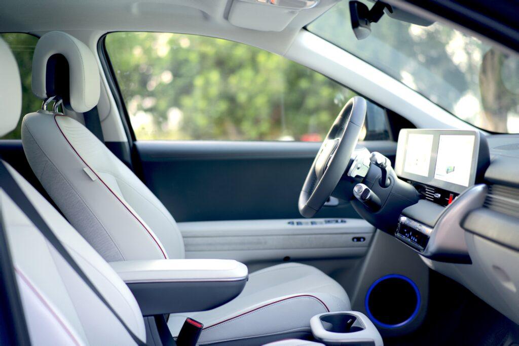 סביבת הנהג ביונדאי איוניק 5
