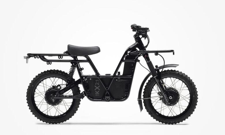 אופניים חשמליים עם הנעה כפולה של אובקו מדגם Work Bike