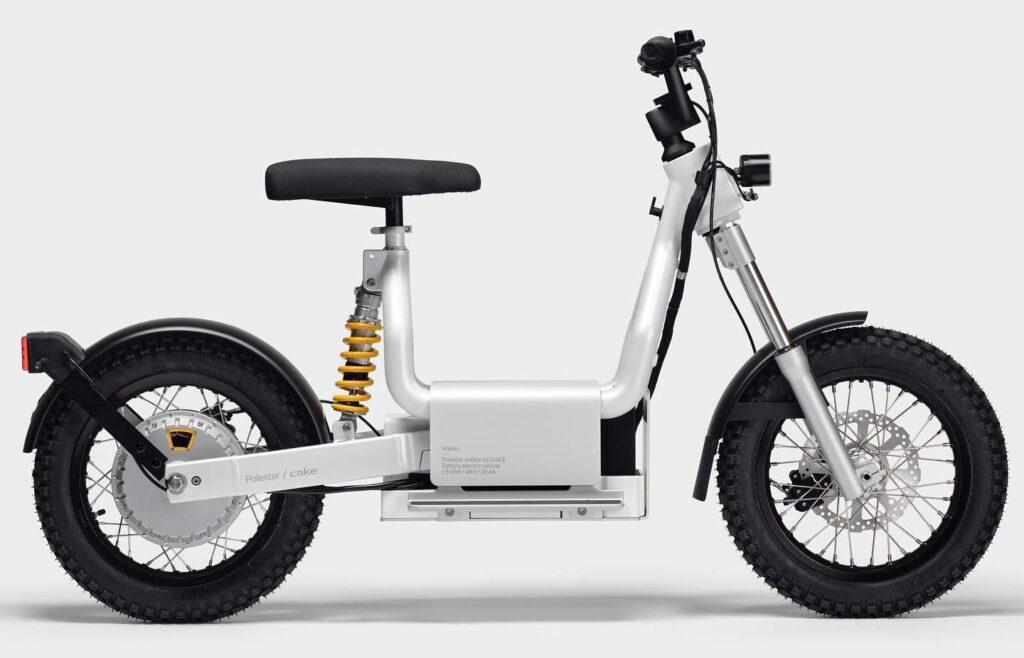האופנוע החשמלי החדש מבית פולסטאר ו-CAKE