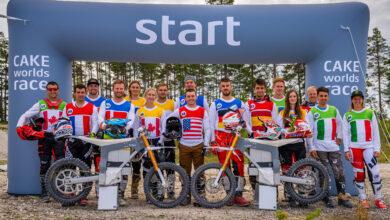 תחילת המירוץ של אופנועי השטח החשמליים CAKE ב-2021