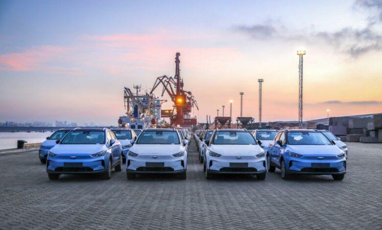 רכבי ג׳יאומטרי C מגיעים לישראל