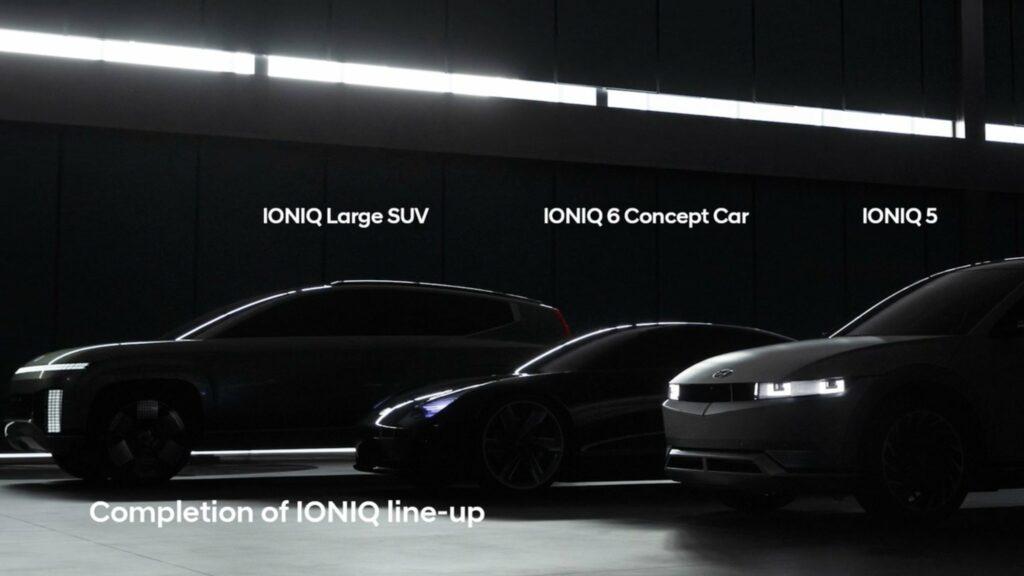 טיזר לרכבים החשמליים הבאים ממותג איוניק של יונדאי