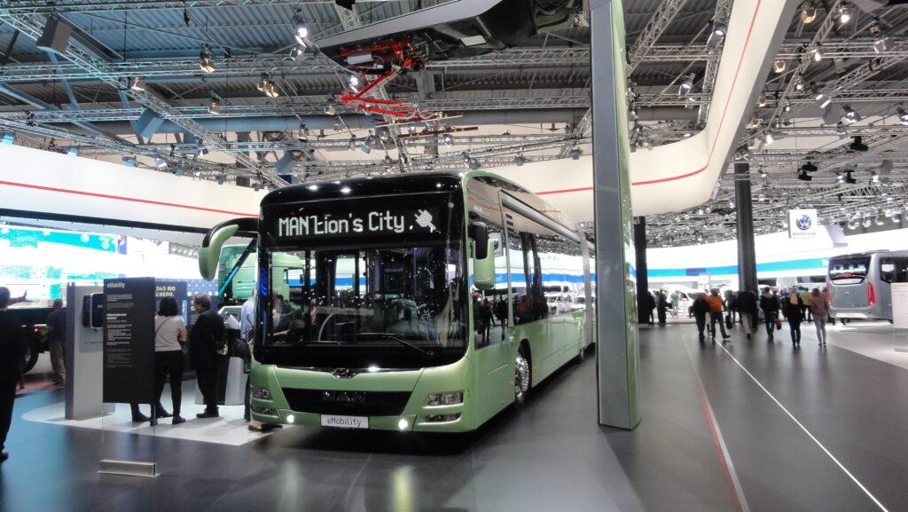חברת האוטובוסים והמשאיות MAN הופכת לחשמלית